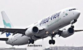 Med-View Airline revenue drop by 74 percent to N9.6 billion from N37 billion previous year