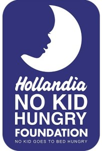 Hollandia No Kid Hungry Foundation, donates milk to children at IDP Camp