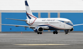 How Air Peace lands at Abuja airport international with burst tyre