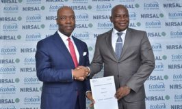 Ecobank, NIRSAL Signs MoU on Agric Financing; Assure Farmers of Single Digit Interest Rates