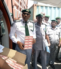 Customs Nabs APM Terminal Officials With Seized Tramadol