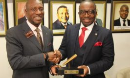 Zenith Bank Plc Performing Closing Gong Ceremony in commemoration of the new GMD on NSE