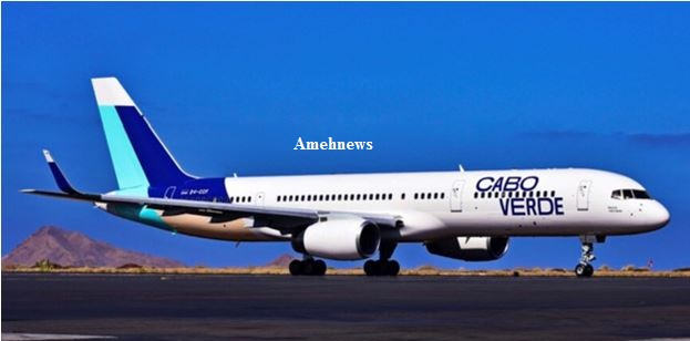 Cape Verdian Airline Schedule Lagos Route Flight on Dec 9
