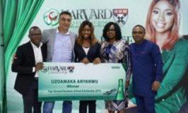 7Up Awards Harvard Business School Scholarship 2019 unveils Miss Anyanwu Maureen Uzoamaka