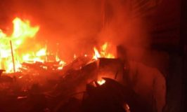 BREAKING: Fire guts Ibadan NNPC depot