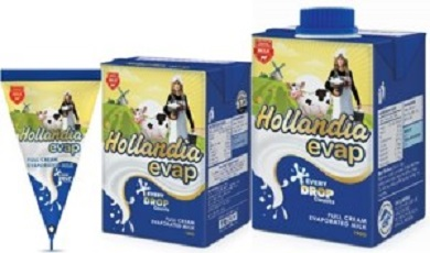 Hollandia Evap Milk launches new pack design to strengthen bond with consumers