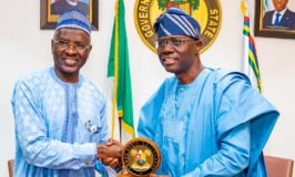 Ag. Director of Petroleum Resources visit the Executive Governor of Lagos State