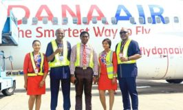 Dana Air takes delivery of first Boeing 737 aircraft