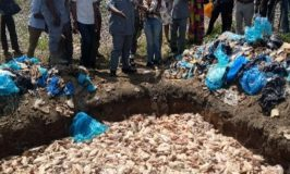 Nigeria Customs Western Marine made a seizure of Contraband frozen poultry value N32.4m on Bar Beach axis