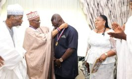 Barr. (Dr.) Taiwo Afolabi inducts as an 'Ambassador/Patron of Senior Citizens Care Foundation'