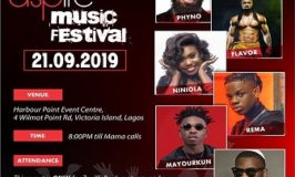 ALL SET AS LAGOS AWAITS ZENITH BANK'S ASPIRE MUSIC FESTIVAL