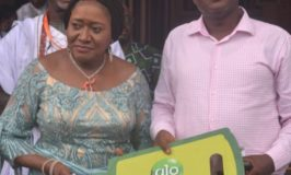 Glo gives tricycle, others to Ofala promo winners