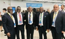 Photo News:, The Heritage Bank, MD/CEO,Ifie Sekibo and others at the ongoing Russian-African Summit in Sochi, Russia
