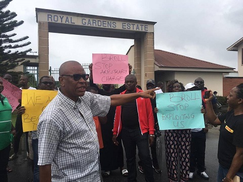 Residents Of Tinubu – promoted Estate Protest Extortion