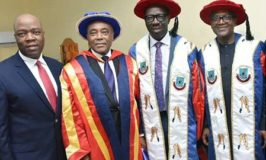 Ambrose Alli Varsity Awards Gambian President, Ecobank Chair, Others, Doctorate Degrees