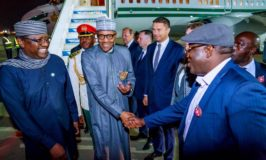 Buhari arrives Sochi ahead of Russia – Africa Economic Summit