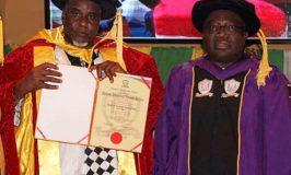Azman Air Boss, Sarina, Awarded Doctorate Degree