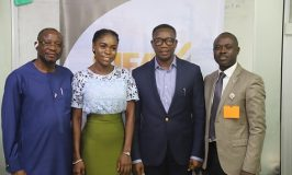 Photo News:The Next Titan Crew led by its Executive Producer, Mide Kunle-Akinlaja and Amifeoluwa Yakubu, Season 6 winner visited SIFAX Group