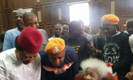 Wole Soyinka, Sehu Sani, Odinkalu in Court for Sowore's Trial