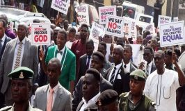Adeboye leads march as Christians protest killings