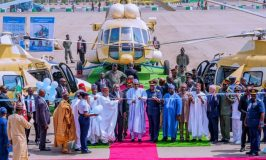 Buhari inducts Augusta helicopters, promises to re-equip military