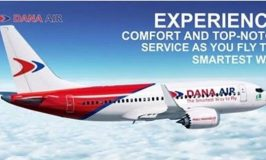 Dana Air Introduces Additional flights on Lagos, Abuja, Port Harcourt, & Uyo Routes