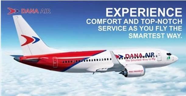 Dana Air Introduces Additional flights on Lagos, Abuja, Port Harcourt, & Uyo Routes