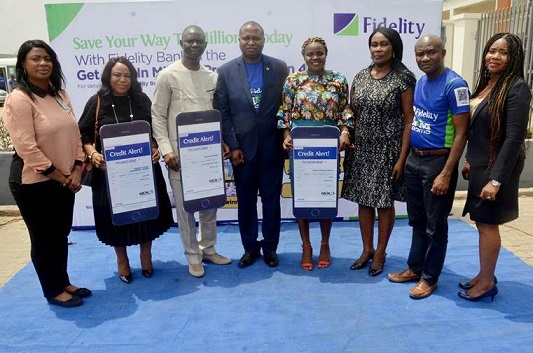 Fidelity Bank Gives Way N5m To Three Loyal Customers In Get Alert Promo