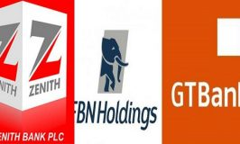 Zenith, FBN Holdings and GTBank accounted 621.150m shares out of 1.478 bn shares turnover