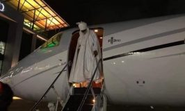 Sanusi Lands in Lagos as Abuja Court Frees Him from Detention