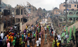 Gas explosions rock Lagos, 17 killed, 50 buildings destroyed
