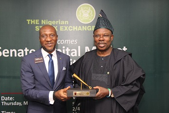Photo News: Senate Committee on Capital Market's courtesy visit to The Exchange