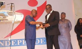NCC Honour For Outstanding Regulator of the Year Award
