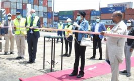 APM Terminals Apapa Commissions two new multimillion dollars state-of-the-art Mobile Harbor Cranes to boost service delivery