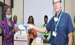 A Maritime Operator, ENL Consortium Contributes to fight COVID-19; Donates Protective Kits to NPA