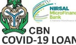 CBN N50bn loan:  NIRSAL Gives Reasons For Not Disbursing Now