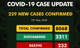 Nigeria Records 229 New Cases of COVID-19, Seven Deaths