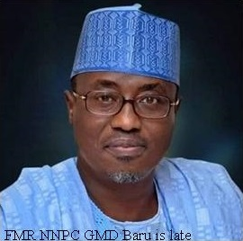 Former NNPC GMD, Baru, is Dead