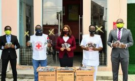 AIICO Insurance Donates Face Masks to Nigerian Red Cross Society Under NSE Masks for All Nigerians Campaign