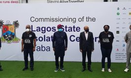 COVID-19: Cacovid Donates 150-Bed Isolation Center, Multi-Million Naira Medical Equipment To Lagos State