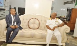 PHOTO NEWS: NIMASA DG PAYS A WORKING VISIT TO CHIEF OF THE NAVAL STAFF
