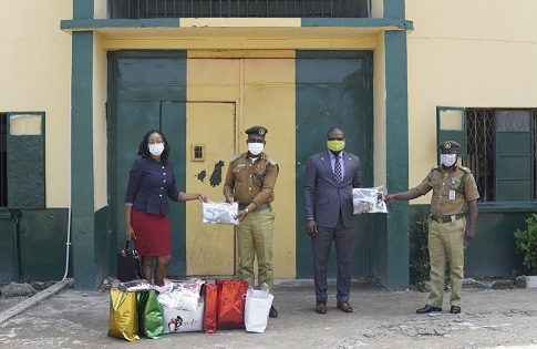 Babalakin & Co Legal Practitioners Donates Face Masks to Ikoyi Custodial Centre Under NSE Masks for All Nigerians Campaign