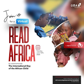 UBA Foundation Commemorates 2020 International Day of the African Child,Donates Thousands of Books Across Africa