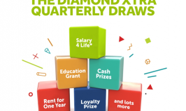 Customers to Win Salary-4-Life, Business Grants, Rent advance and Cash Rewards in Diamondxtra Quarterly Draw.