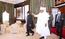 Jonathan Lauds Buhari over Completion of Projects