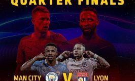 UCL Quarter-Final Clash Between Man City & Lyon This Weekend on GOtv Max and Jolli