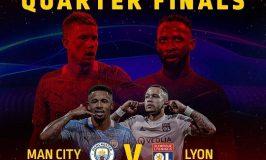 UCL Quarter-FinalClash Between Man City & Lyon This Weekend on GOtv Max and Jolli