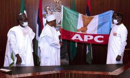 Buhari Receives Ize-Iyamu; Urges APC to Avoid Rivers Experiences