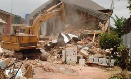 Enugu Pulls Down House of Man who Demolished Airport Fence