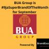 BUA Group is #9jaSuperBrandOfTheMonth for September – BrandEscort